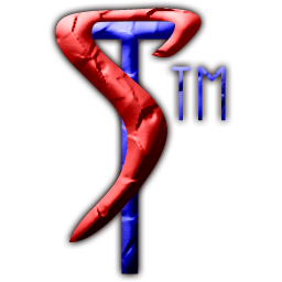 Symbiotic Technologies 'joined TS' TM logo/badge/icon